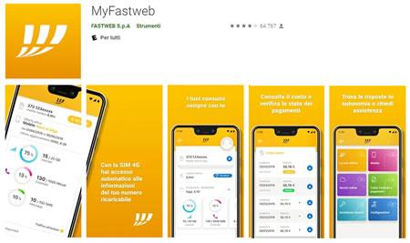 Applicazione MyFastweb