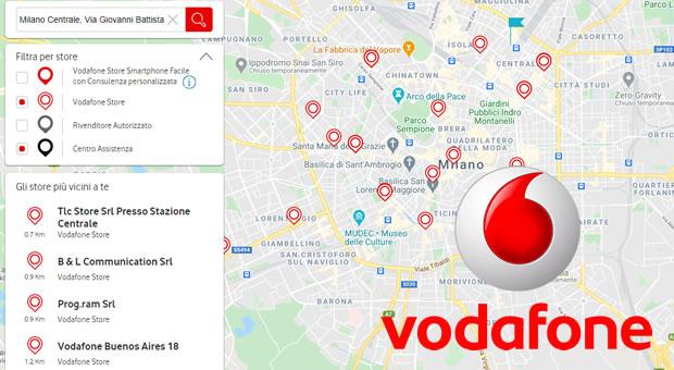 Centri assistenza Vodafone